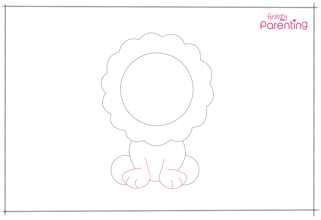 How to Draw a Lion Step 8