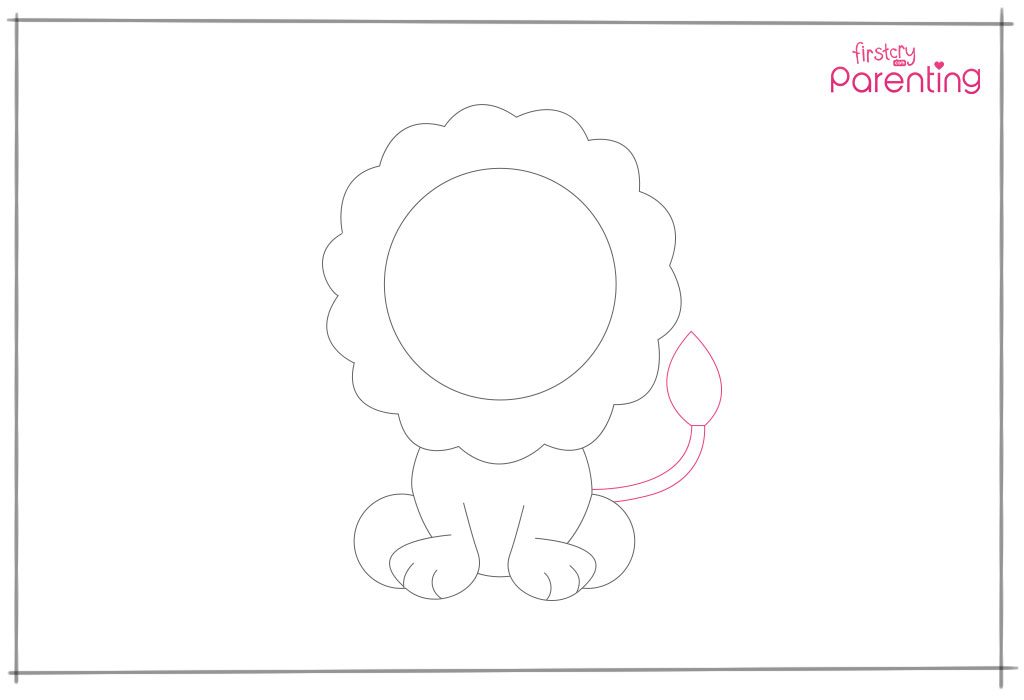 How to Draw a Lion Step 9