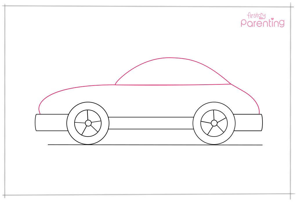 Draw the Body of the Car