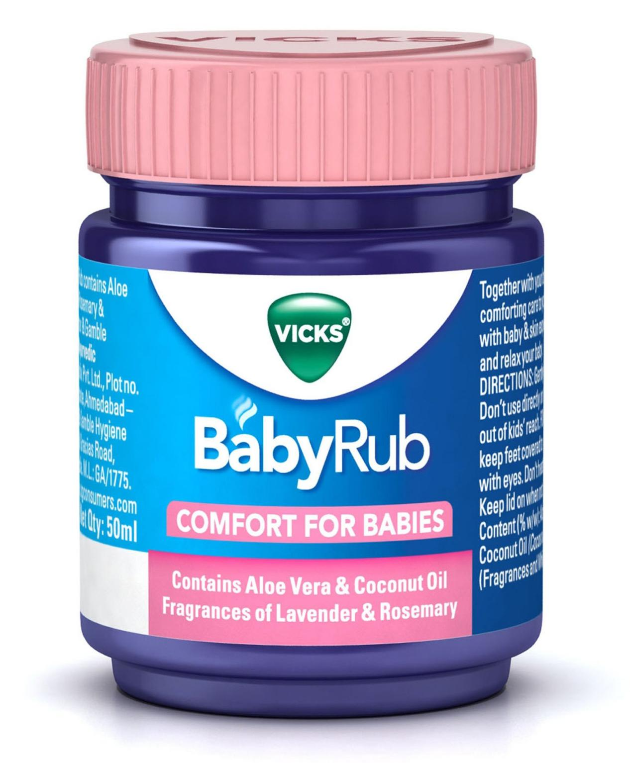 Vicks BabyRub Confort For Babies