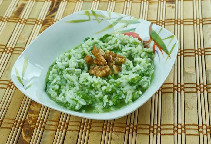 Spinach Khichdi for Babies