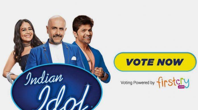 Indian Idol Season 11 Voting Through FirstCry APP & Website