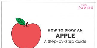 How to Draw An Apple for Kids