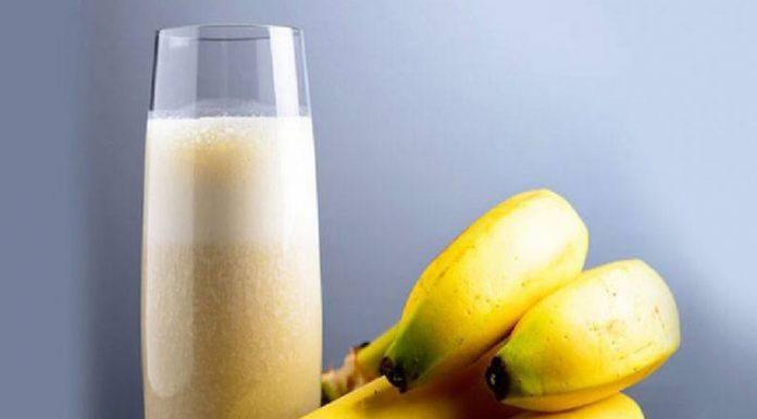 Banana Vanilla Milkshake Recipe
