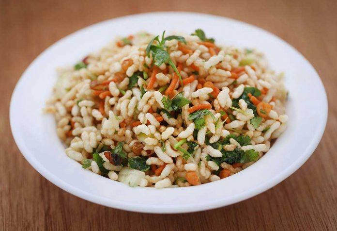 Channa Murmura Chaat Recipe