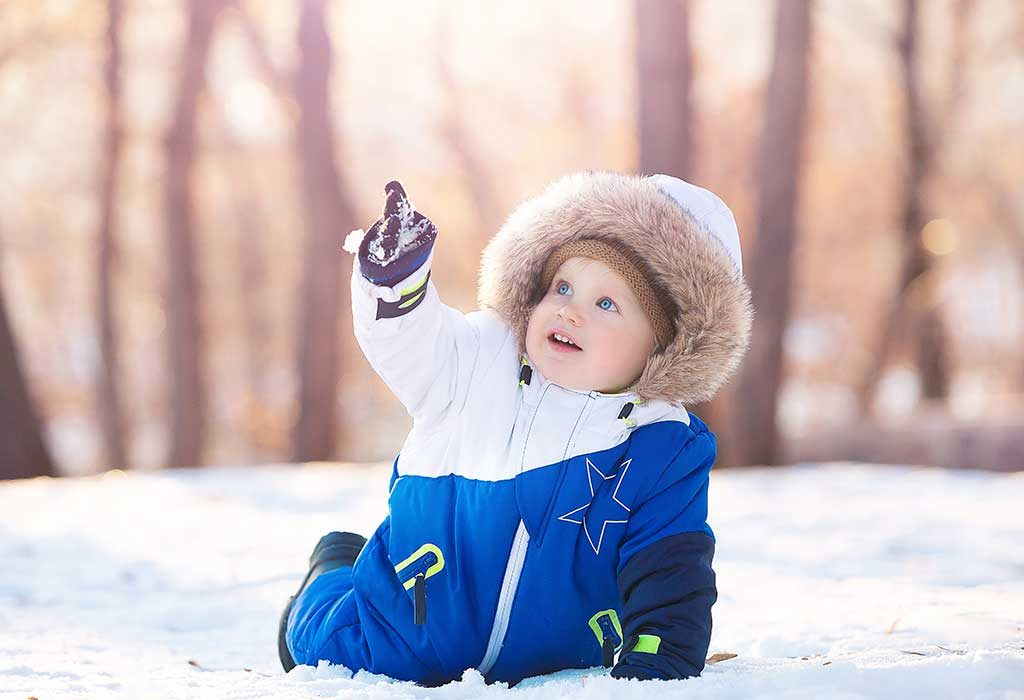 Baby Boy Names that Mean Winter, Snow or Ice