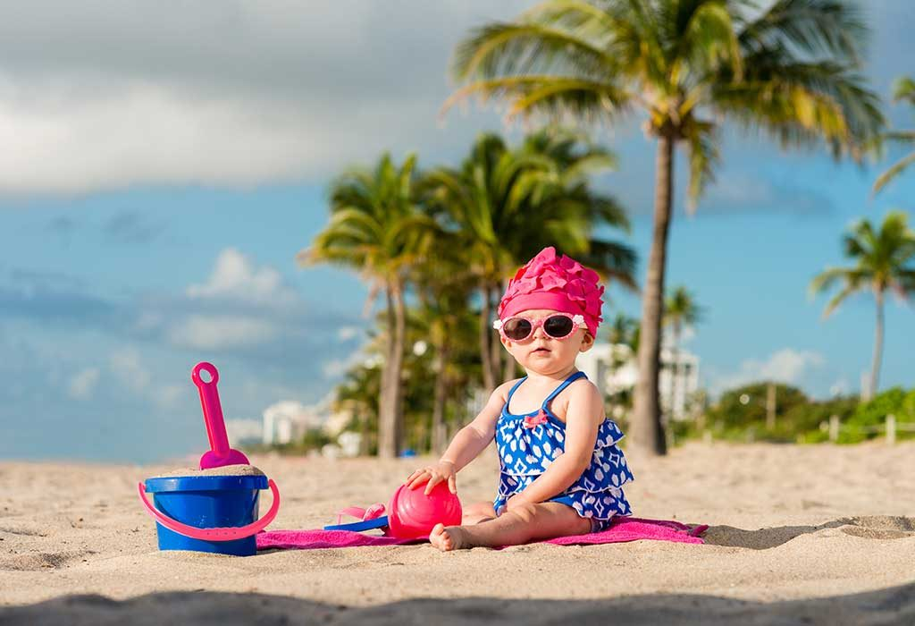Beach or Surfer Baby Girl Names
