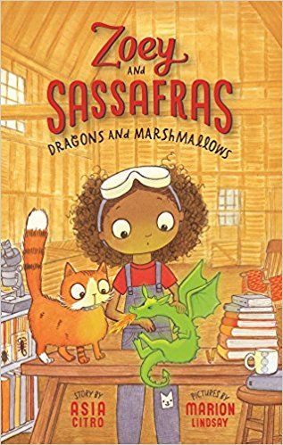 Zoey and Sassfrass Dragons and Marshmellows