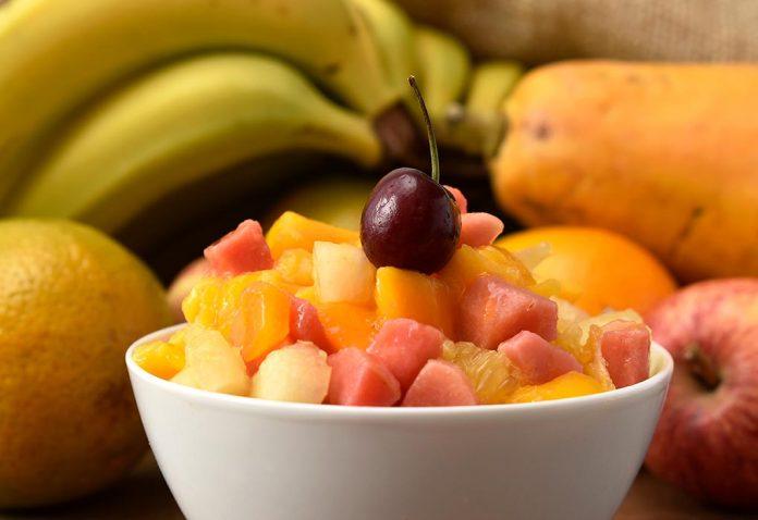 Papaya and Apple Chaat Recipe