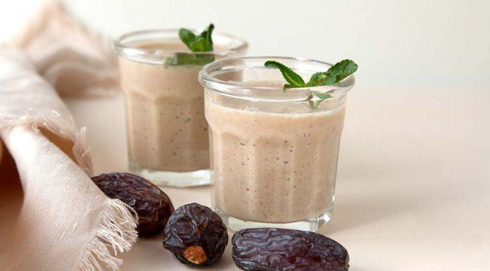 Pear Date Milkshake Recipe