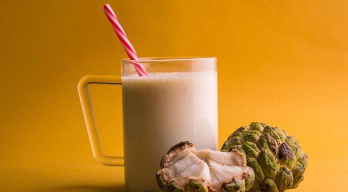 Custard Apple Milkshake Recipe