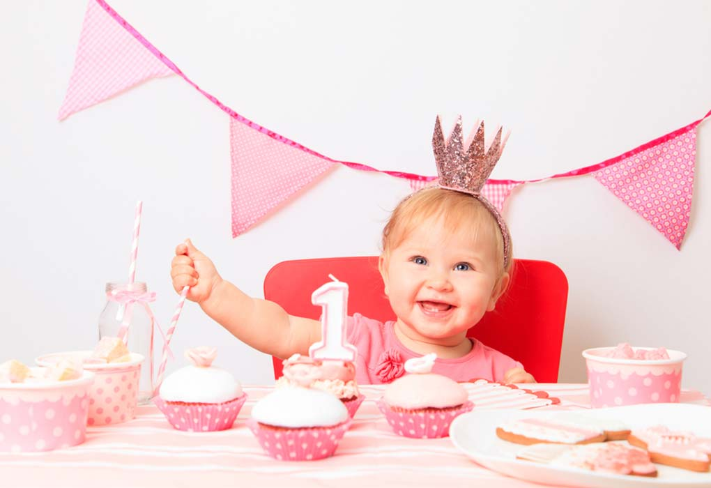 First Birthday Invitation Sample Wordings for Baby Girl