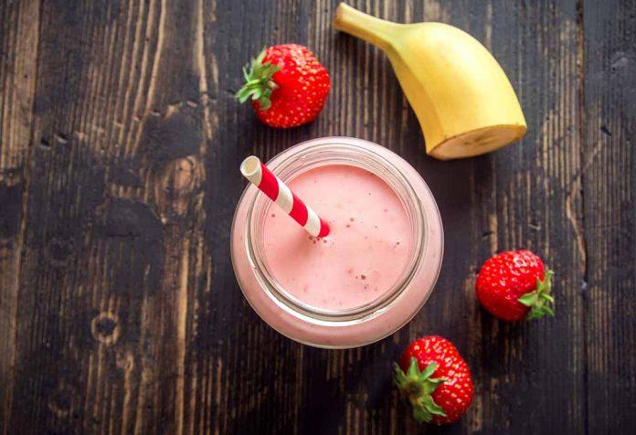Rajgira Puff Milkshake Recipe