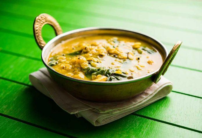 Dal-Spinach Soup Recipe