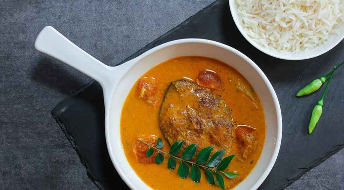 Fish Curry With Rice Recipe
