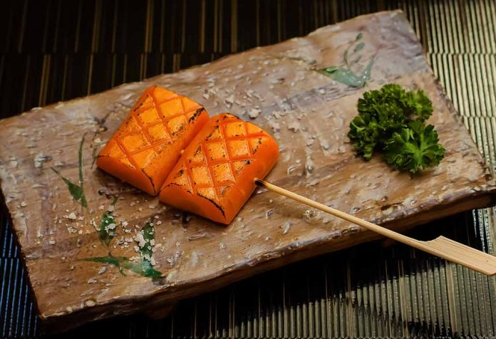 GRILLED CARROT COINS