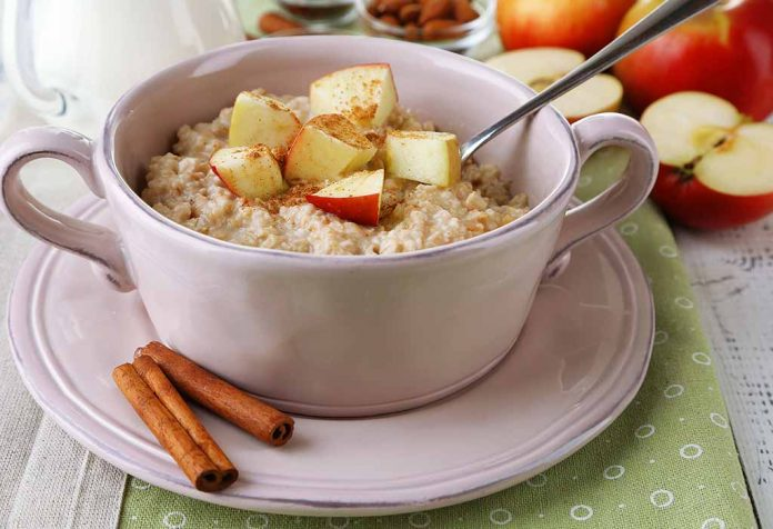 OATS APPLE CINNAMON PORRIDGE RECIPE
