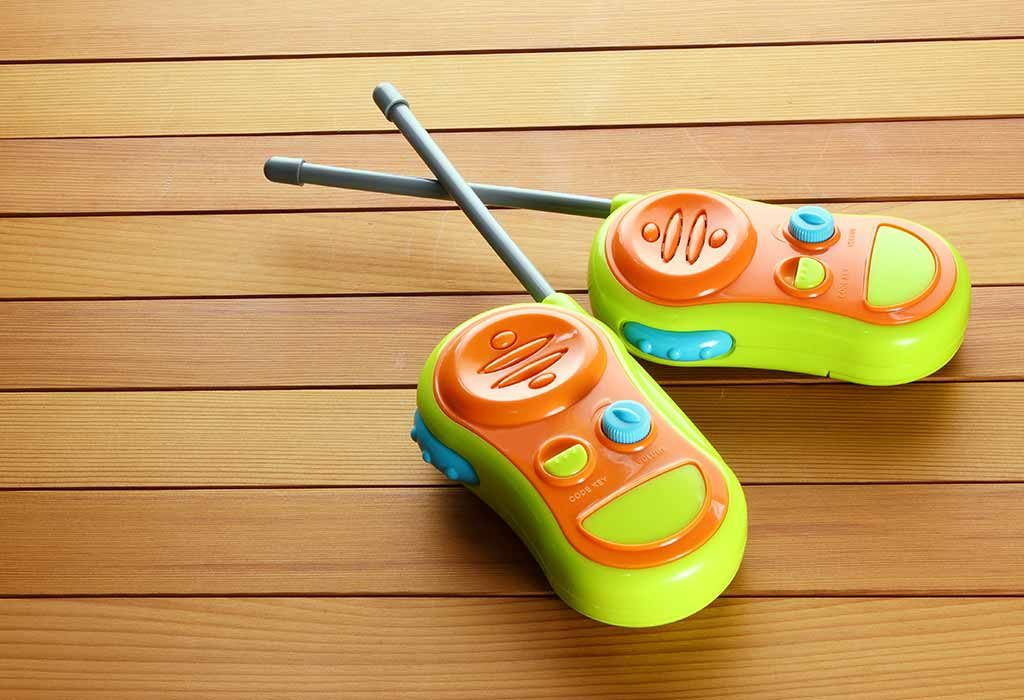 Walkie Talkies For 6-Year-Old Girl