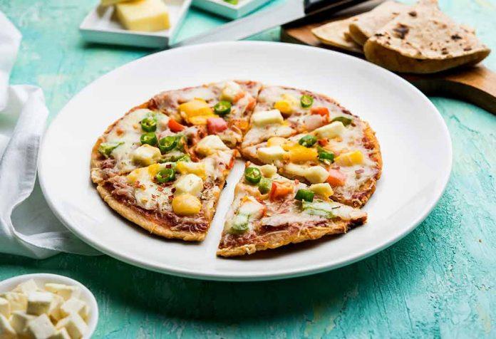 Mini Roti Pizza Recipe
