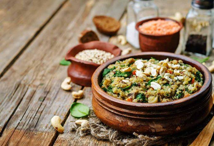 Spinach Quinoa Khichadi Recipe