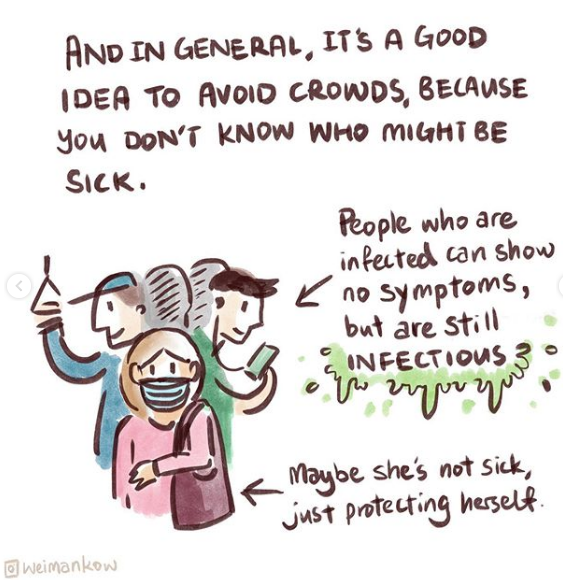 How the Coronavirus Disease Spreads - Image 5