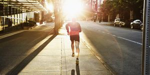 Go for a Walk/ Run Outside, But Avoid Crowded Areas