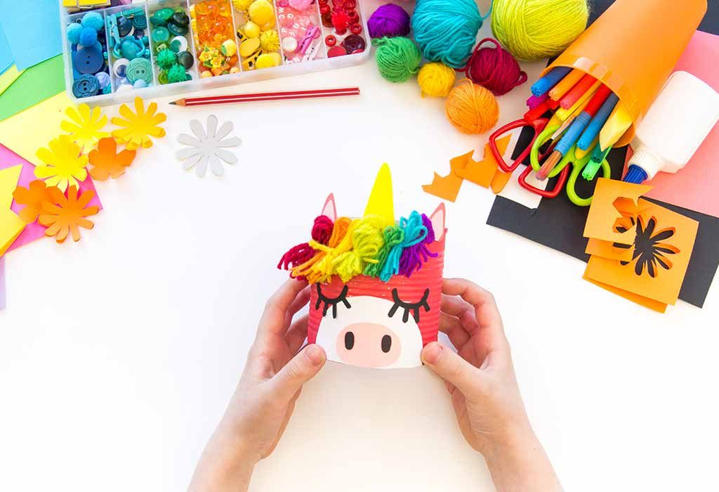 Funky Unicorn Pencil Holder
