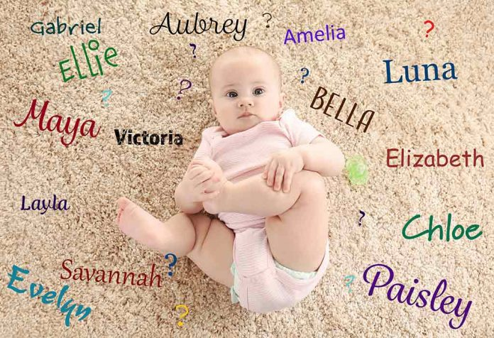 Top 1000 Most Popular Baby Girl Names