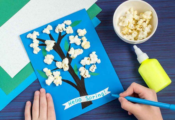 spring-themed craft