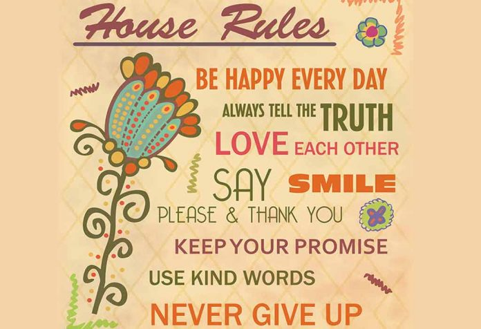House Rules For Kids That Every Child Should Follow