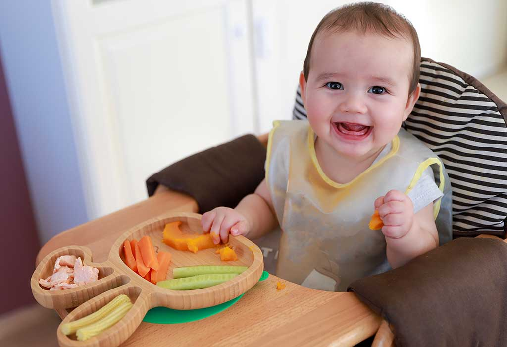 seven month baby breast milk only diet