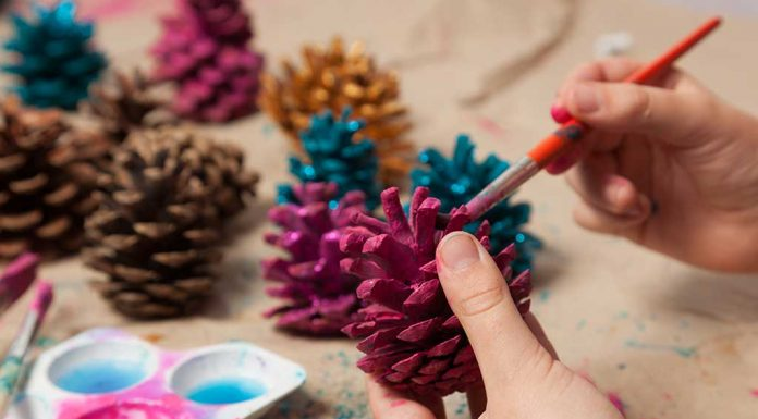 7 Quirky Pine Cone Crafts for Kids
