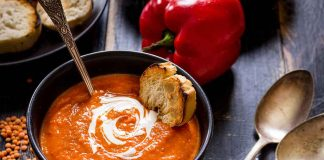 Tomato Pumpkin Rice Soup Recipe