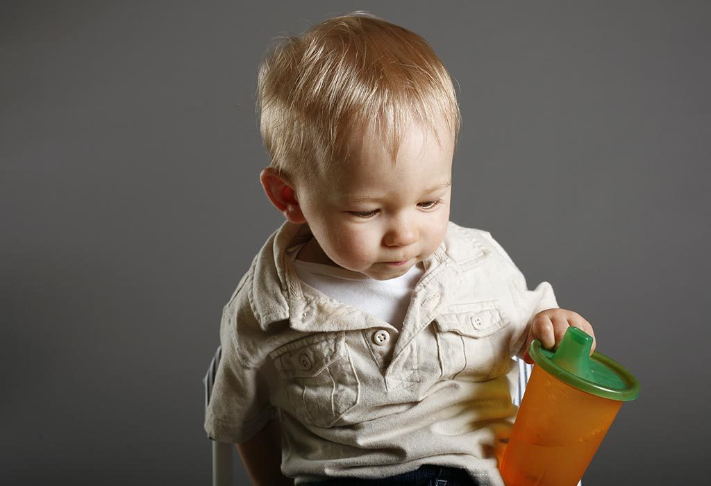 toddler refusing sippy cup