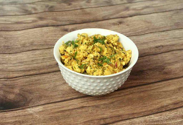 Paneer (Cottage Cheese) Bhurji Recipe