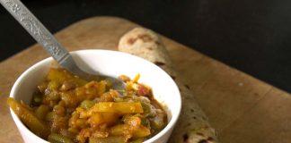 Turai (Snake Gourd) Moong Dal (Green Gram Split) Sabzi Recipe
