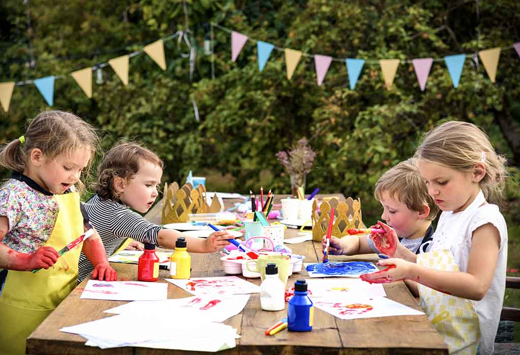 How To Throw A Fun Painting Party For Kids