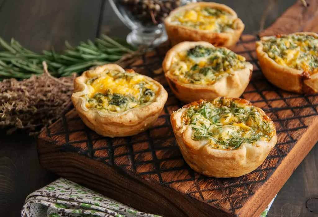 Pizza Mini Quiches