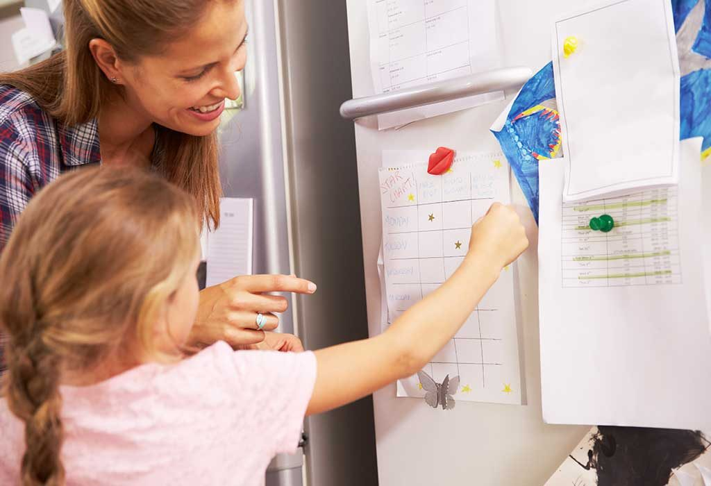 How to Help Your Kid Succeed With a Behavior Chart