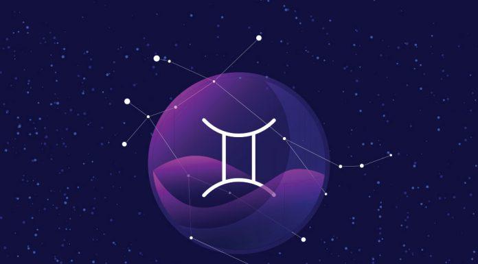 Gemini zodiac sign and constellation