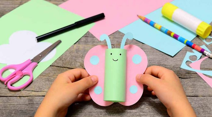 10 Creative Butterfly Crafts for Toddlers, Preschoolers and Kids