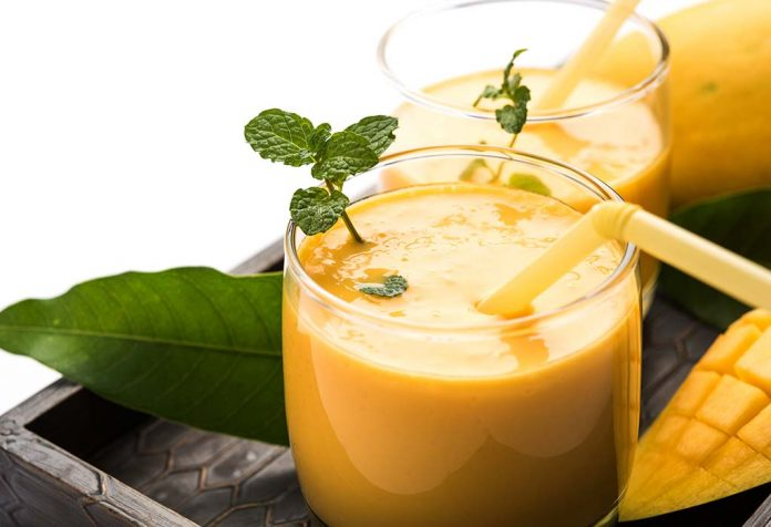 Mango Lassi - A Weight-gaining Healthy Drink to Beat the Heat