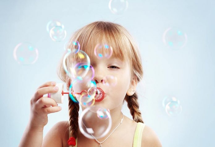 Homemade Bubble Solution Recipe for Kids