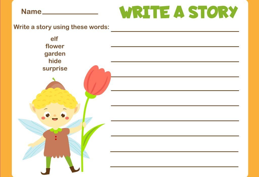 Imaginative writing prompts for kids