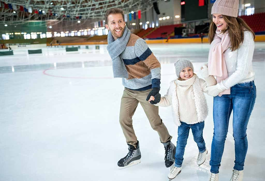 Teaching Your Child To Ice Skate