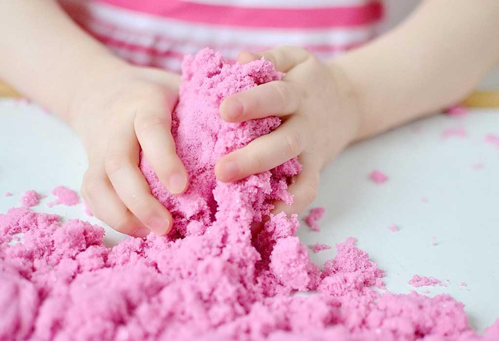 DIY Kinetic Sand Recipes for Kids