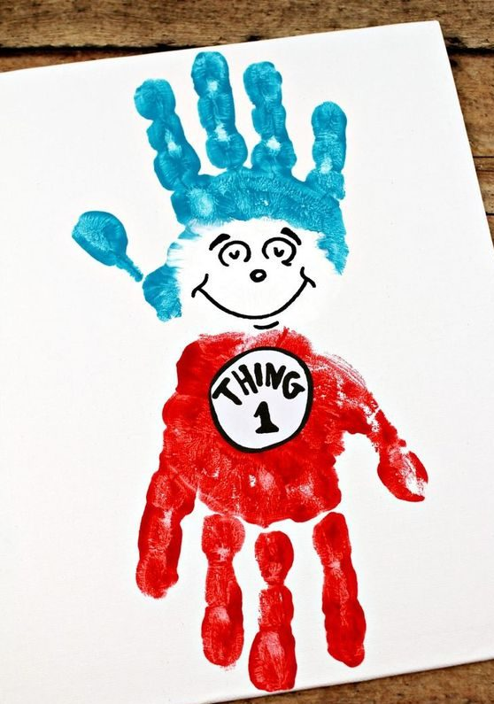 Thing 1 and Thing 2 Craft Ideas
