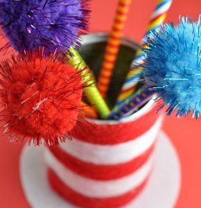 Dr Seuss Hat Crafts for Kids