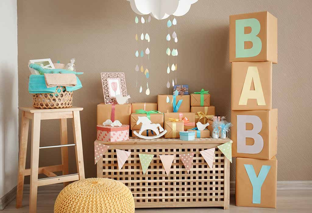 Gender-Neutral Baby Shower Decoration Ideas