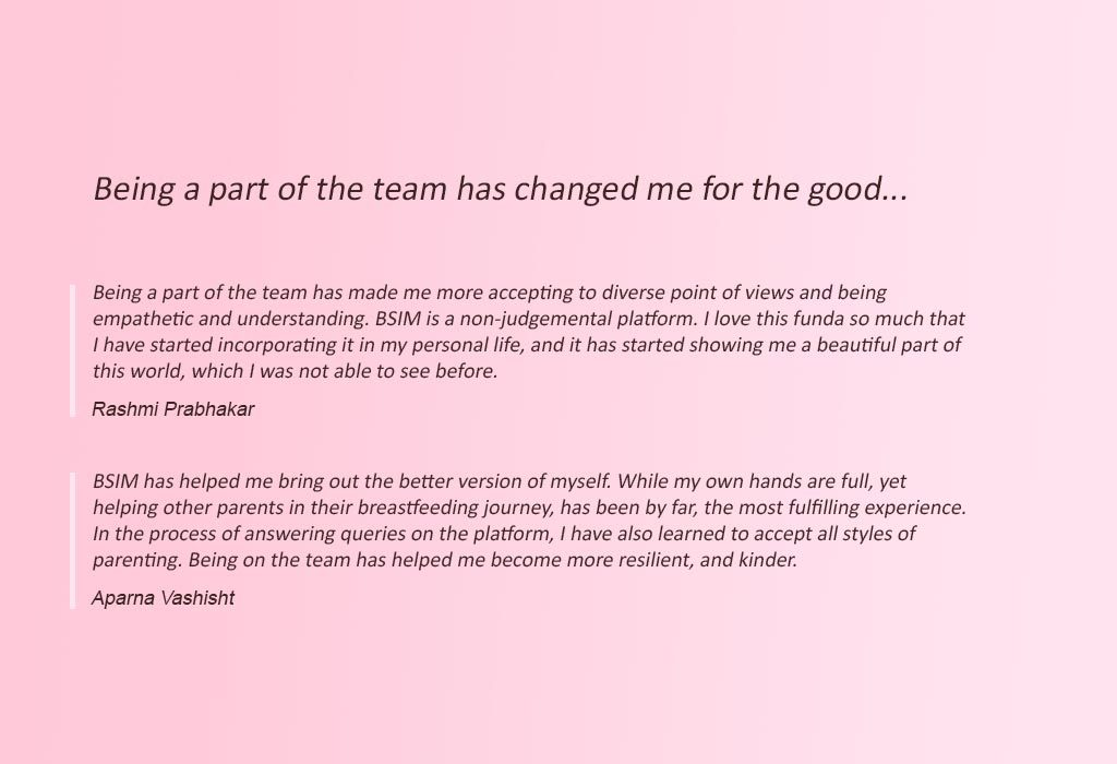 Quotes from BSIM Team 2